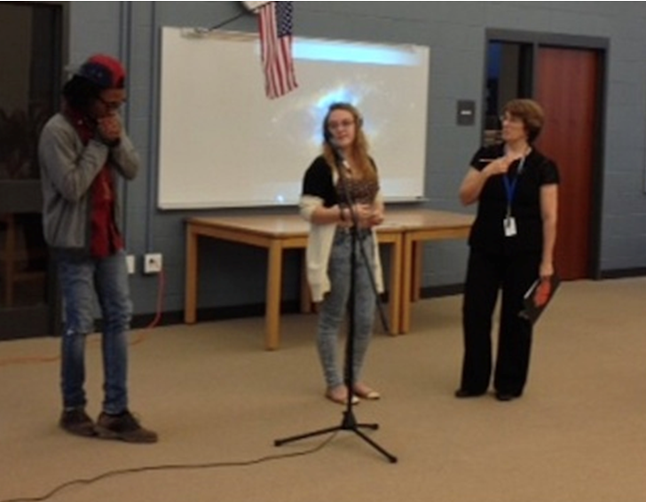 Taunton High School Library Poetry Slam