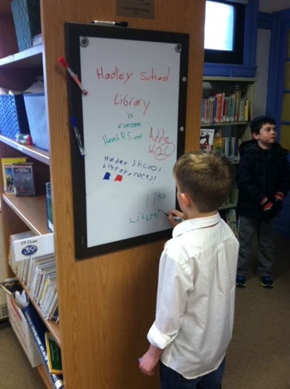 Swampscott Hadley Elementary School Library - a victory for the PTA advocacy